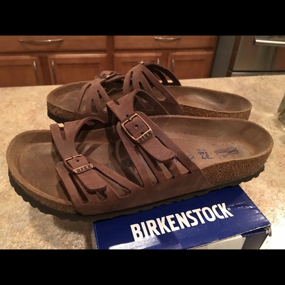 Birkenstock Women's Granada Soft Footbed Sandal,Twilight